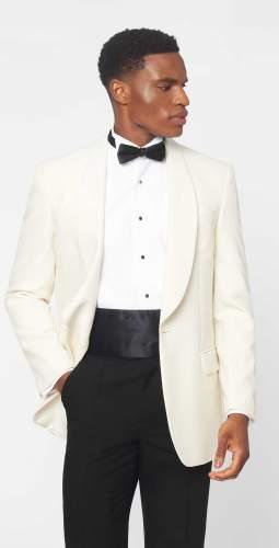 The Duke White Tuxedo